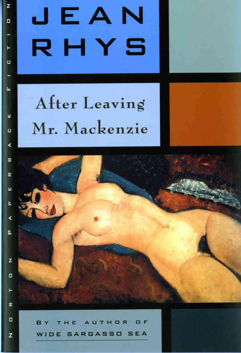 After Leaving Mr. Mackenzie By Rhys, Jean